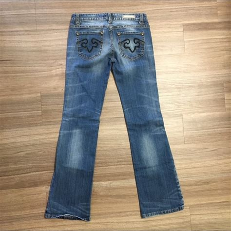 Express Denim 68 express denim rerock express boot cut light wash denim from jess s closet on