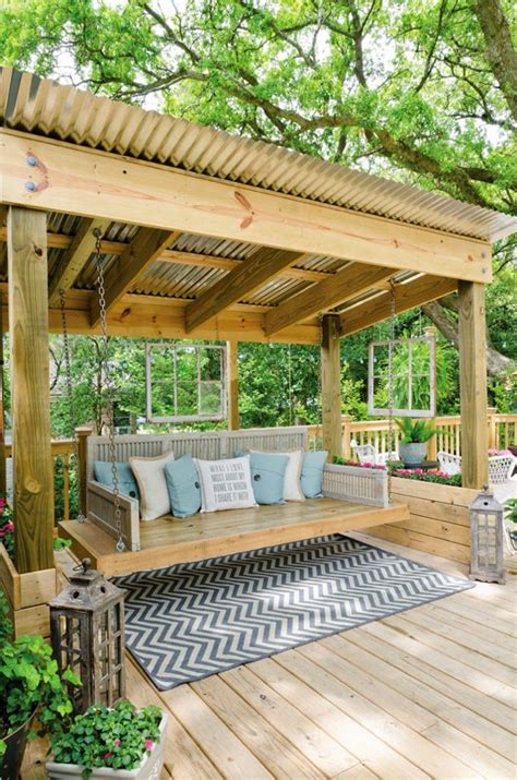 porch swing cover great garden swing ideas to ensure a gregarious time for