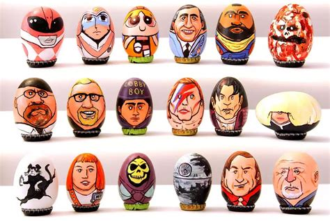 decorated eggs characters 200 superbly decorated pop culture easter eggs