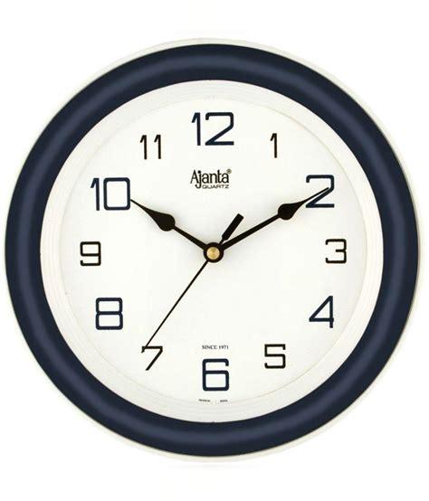 designer wall clock buy ajanta designer wall clock 2147blue online in india
