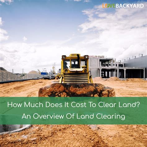 how much does it cost to clone a how much does it cost to clear land an overview of land clearing mar 2018