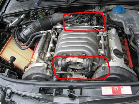 Audi A4 3 0 Quattro Probleme by 3 0 Vacuum Leak Audiworld Forums
