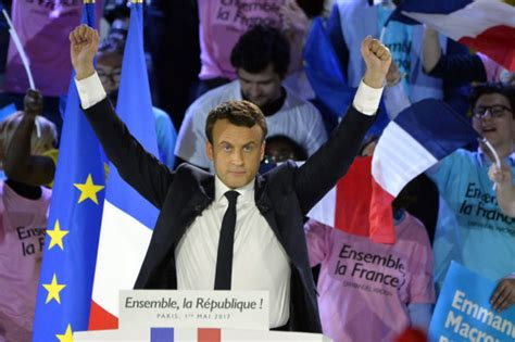 emmanuel macron opponent emmanuel macron wins french presidential election against