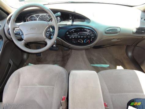 2014 Ford Taurus Interior 1999 Ford Taurus Se Wagon Medium Prairie Tan Dashboard