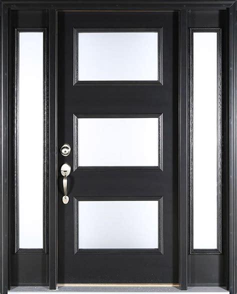contemporary black front doors contemporary black front door clopay energy smooth
