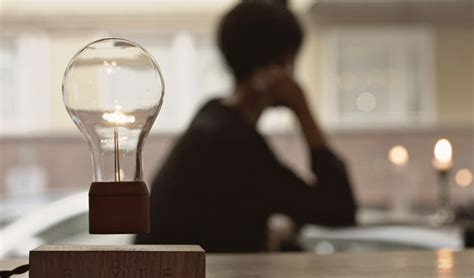 flyte kickstarter flyte levitating wireless light bulb homeli