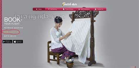 batik air check in online tenarkan