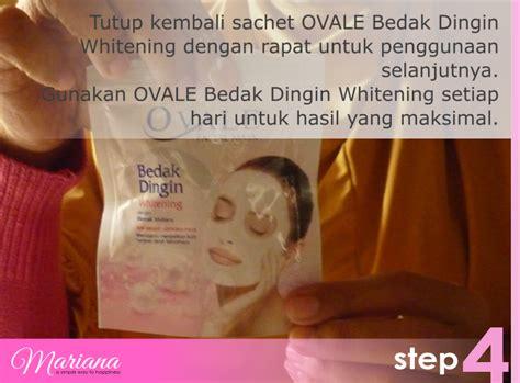 Masker Ovale Mutiara perawatan wajah dengan ovale masker bedak dingin mariana