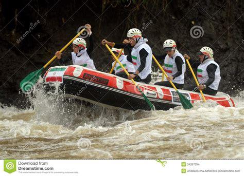 Team Negara 3d rafting in indonesia editorial stock image image 34267354