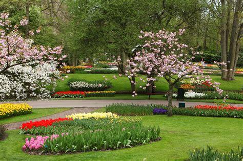 Photo Flower Garden Lush Greenery Pictures Beautiful Gardens Wonderwordz