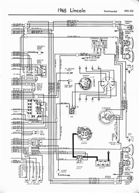 lincoln continental horn schematics and diagram 47
