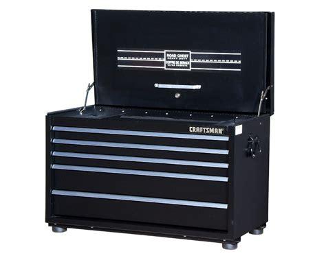 craftsman 5 drawer tool box sears craftsman 34 in 5 drawer truck road box black