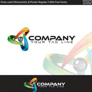 free business logo design templates 3d professional logo design template free vector in adobe