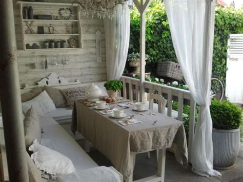 veranda shabby chic 27 shabby chic terrace and patio d 233 cor ideas shelterness