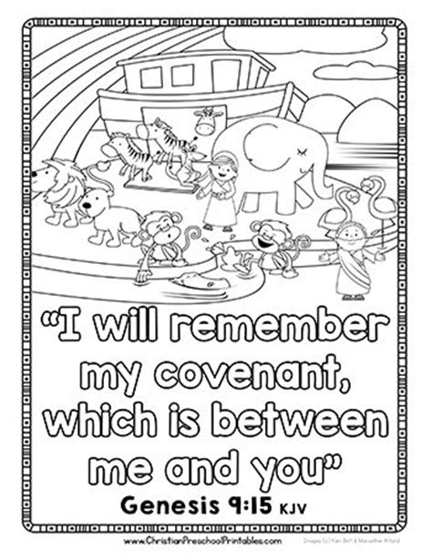 christian rainbow coloring pages 71 best images about noe on pinterest sunday school