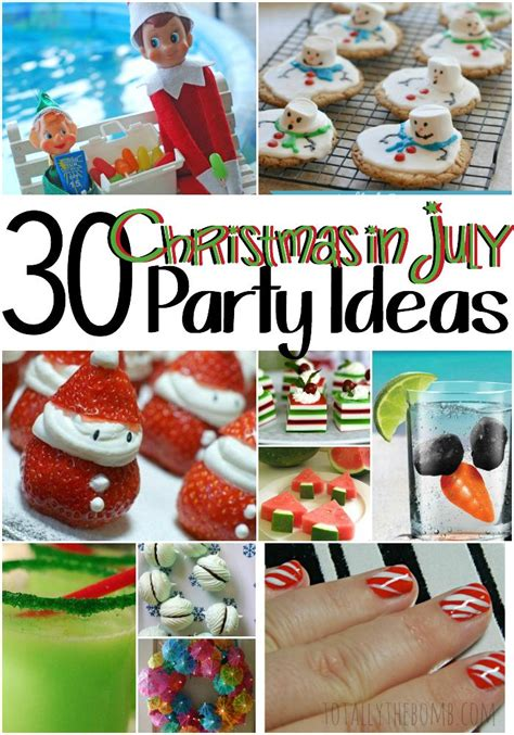 35 best images about christmas in july party ideas on