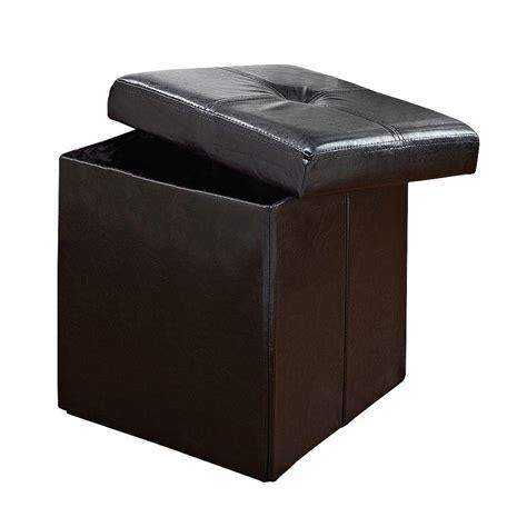 simplify storage ottoman simplify black storage ottoman f 0625 black the home depot
