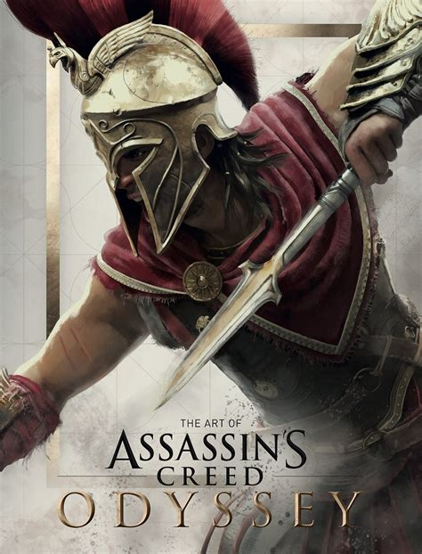 1405939745 assassin s creed odyssey the official the art of assassin s creed odyssey cover revealed