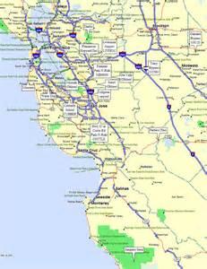 map of california san francisco area san francisco area