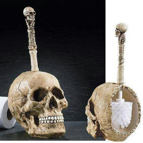 skull bathroom accessory bath
