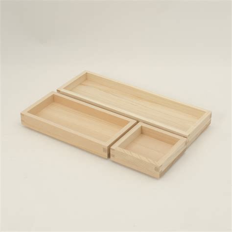 Tray L by Hakomasu Tray S M And L Japanese Products By Focus