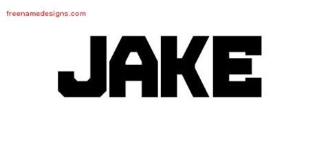 tattoo name jake titling name tattoo designs jake free download free name
