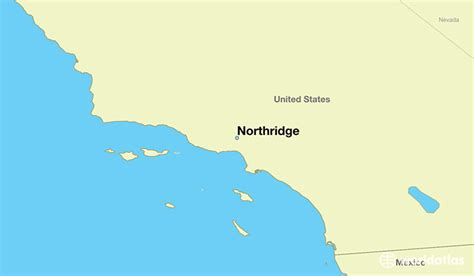 california map northridge where is northridge ca where is northridge ca located