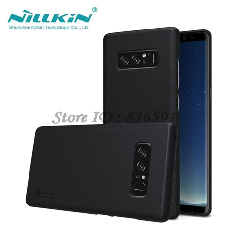 Nillkin Frosted Shield Samsung Note 8 Back Cover Casing nillkin sfor samsung galaxy note 8 frosted shield cover for samsung galaxy note 8