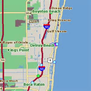 where is delray florida on the map about delray palm county home to 55 plus