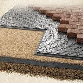 patio paver base brock paver base