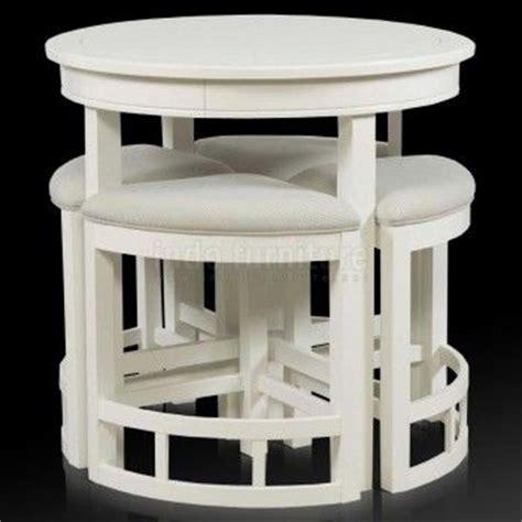 Sofa Minimalis Makassar set meja makan minimalis bulat indo furniture set meja makan interiors