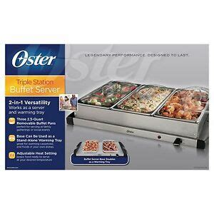 oster buffet server chafing dishes warming trays ebay
