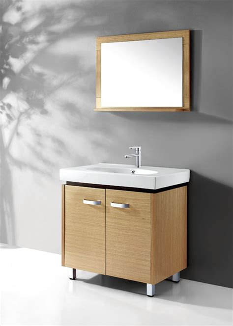 Legion Bathroom Vanities Legion Wc019 Contemporary Bathroom Vanity Solid Plywood With Wood Veneer