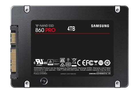 samsung 860 pro and 860 evo solid state drives with up to 4tb capacity announced