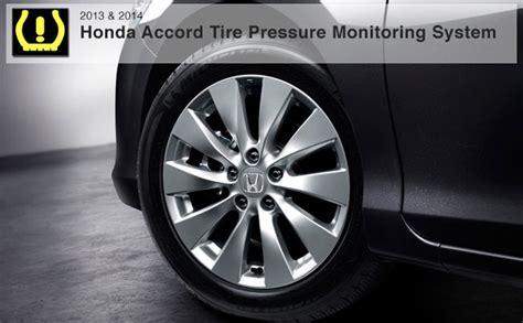 tire pressure monitoring 1983 honda accord free book repair manuals 2013 2014 honda accord tpms system how to recalibrate