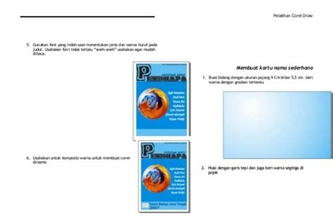 tutorial membuat cover buku dengan coreldraw x5 tutorial corel draw