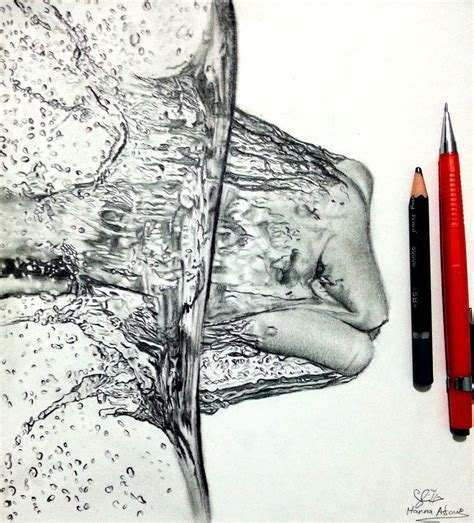 Drawing Water by Splashing Water Drawing By Hannaasfour On Deviantart