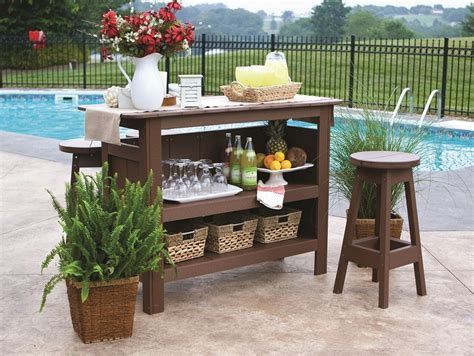 Patio Bar Make Your Lawn By Patio Bar Set Carehomedecor