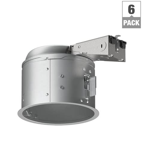 halo 4 in led remodel recessed lighting housing nora lighting 4 in remodel shallow recessed light housing