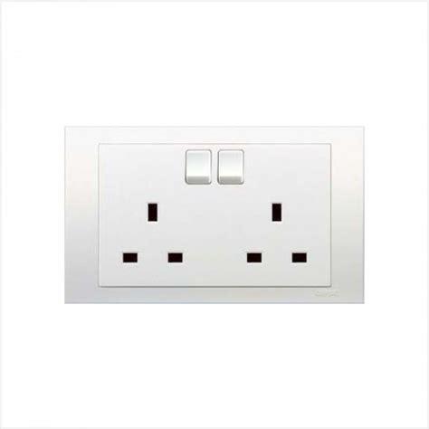 Saklar Clipsal Vivace schneider clipsal c vivace kb25 socket outlets 13a 250v switched socket