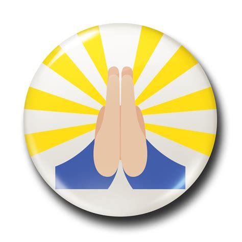 emoji pray pray emoji the badge works