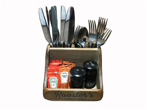 cutlery holder for table canterbury condiment cutlery holder table cutlery