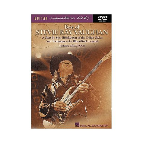 1470632160 signature solos book all new hal leonard best of stevie ray vaughan signature licks