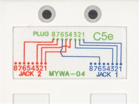 panduit cat6 wiring diagram rj11 wiring diagram
