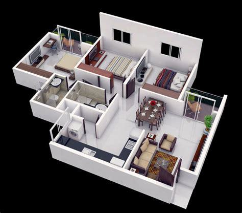 home design 3d how to make an upstairs 25 more 3 bedroom 3d floor plans