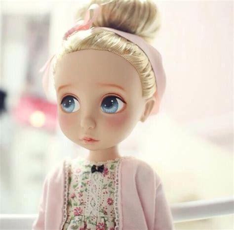 doll repaint repainted disney animator doll disney animators