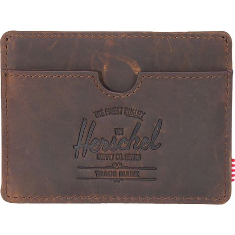 Rfid Wallet Herschel herschel supply rfid leather wallet backcountry