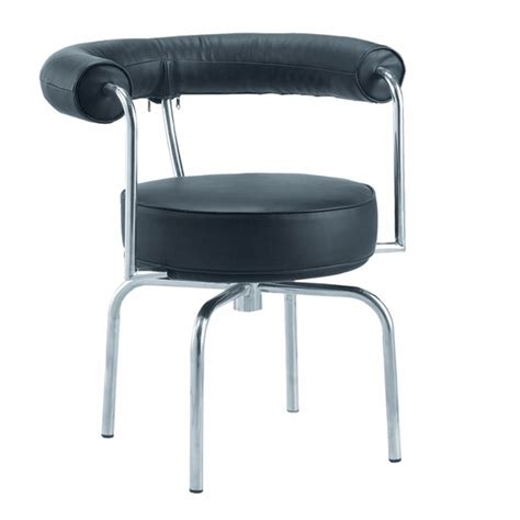 Black Swivel Armchair by Lc7 Swivel Armchair In Black Leather Modern In Designs