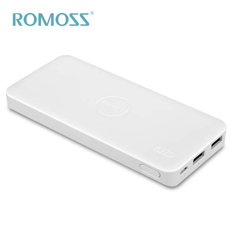 Powerbank Romoss romoss 10000mah tragbar power bank externer ladeger 228 t fur smartphone tablet akku ebay