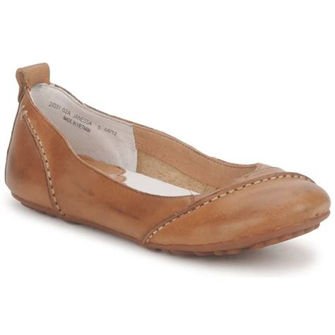 Flat Shoes Puppies hush puppies janessa brown free delivery with rubbersole